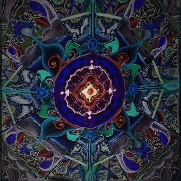 Mandala ponic de angeldecuir