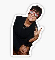 Kris Jenner Party Animal Sticker