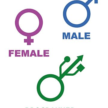 Programmer is my gender by SpaceLake