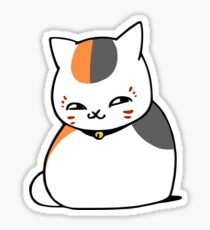 こそこそ Nyanko Sensei Colored Ver. Sticker