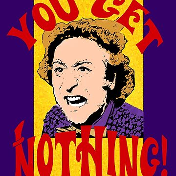 You Get Nothing! Willy Wonka by Keighcei