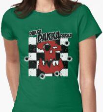 Ork Skull Dakka Fitted T-Shirt