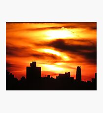 NYC Sihouette Photographic Print
