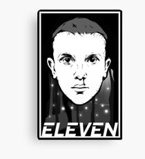 STRANGER THINGS ELEVEN TV SHOW Canvas Print