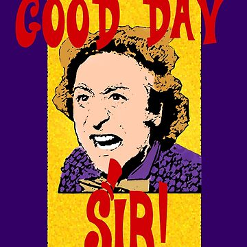 Good Day, Sir! Willy Wonka by Keighcei