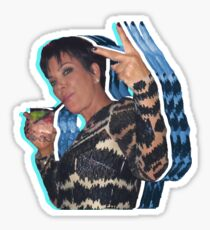 Peace Out Kris Jenner Sticker