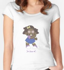 Introducing Zoe Women's Fitted Scoop T-Shirt
