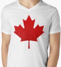 Canada is happening Men's V-Neck T-Shirt