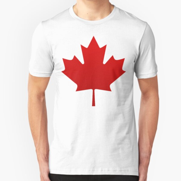 Canada is happening Slim Fit T-Shirt