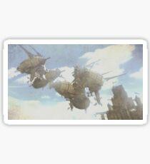 Airship - 飞艇 Sticker