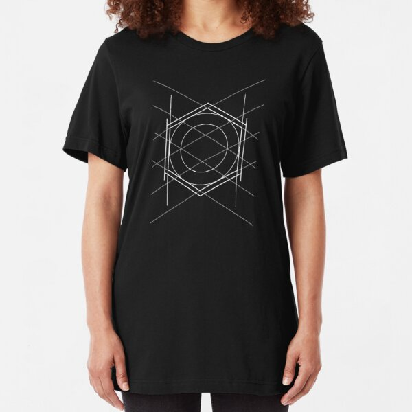 Geometric pattern Slim Fit T-Shirt