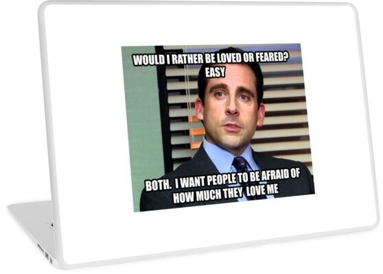 Michael Scott Würde ich lieber geliebt oder gefürchtet werden? von Chris Jackson