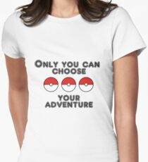 Choose your Adventure Women's Fitted T-Shirt