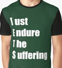 Jets – Just Endure The Suffering Graphic T-Shirt
