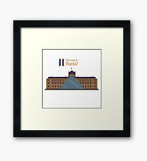 Paris Travel. Famous Place - Louvre Framed Print