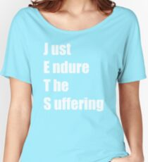 Jets – Just Endure The Suffering Women's Relaxed Fit T-Shirt