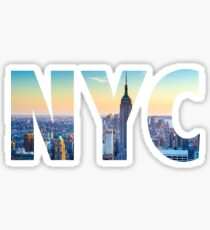 New York City - NYC Lettering Sticker