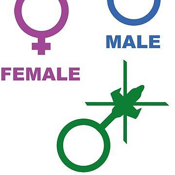 Attack Helicopter Gender by SpaceLake