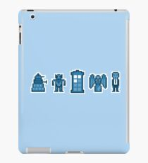 Time and Space Invaders iPad Case/Skin