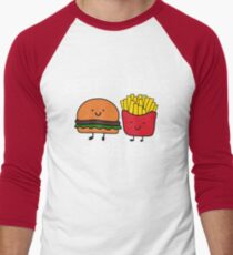Best Friends Forever T-shirt Cool Hamburger and Fries Potatoes Emoticon Tshirt T-Shirt