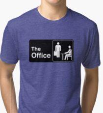 The Office TV Show Logo Tri-blend T-Shirt