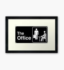 The Office TV Show Logo Framed Print