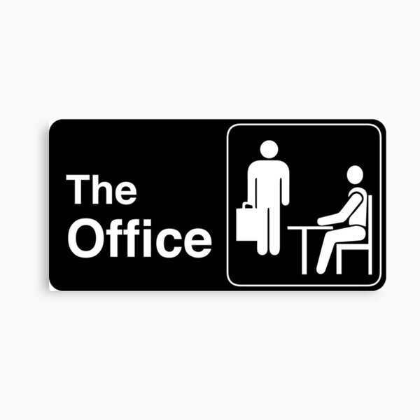 The Office TV Show Logo Canvas Print