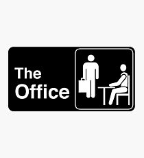 The Office TV Show Logo Photographic Print