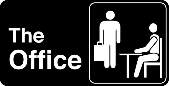 The Office TV Show Logo by Chris Jackson