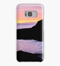 Sunset at Beefan Mountain - Glencolmcille, Ireland Samsung Galaxy Case/Skin