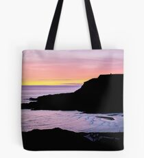 Sunset at Beefan Mountain - Glencolmcille, Ireland Tote Bag