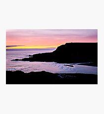 Sunset at Beefan Mountain - Glencolmcille, Ireland Photographic Print