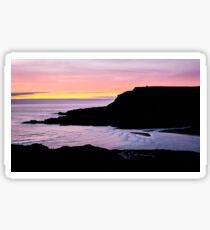 Sunset at Beefan Mountain - Glencolmcille, Ireland Sticker