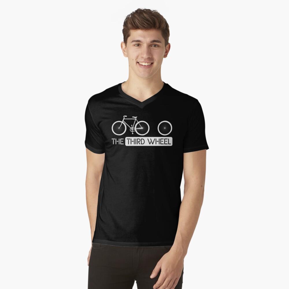 The Third Wheel V-Neck T-Shirt