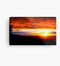 Sunset  - Glencolmcille, Ireland Metal Print