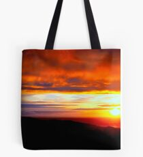 Sunset  - Glencolmcille, Ireland Tote Bag