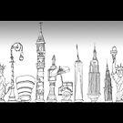 New York Landmarks by steeber