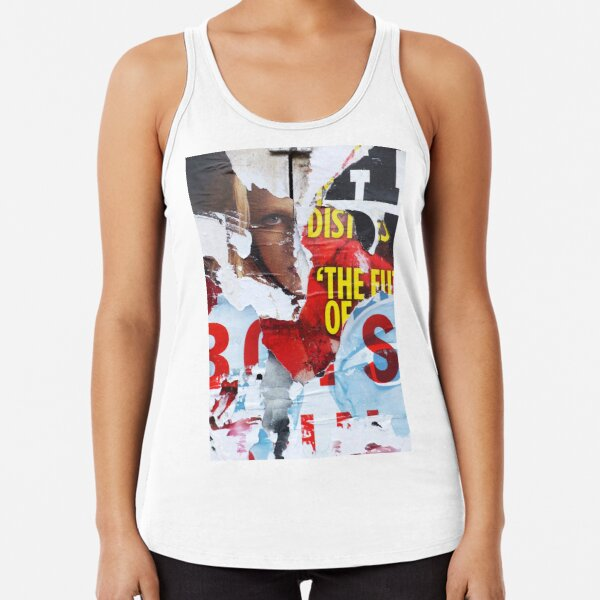 Who Watches The Watchmen? Racerback Tank Top