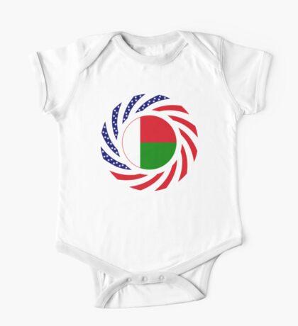 Madagascan American Multinational Patriot Flag Series Kids Clothes