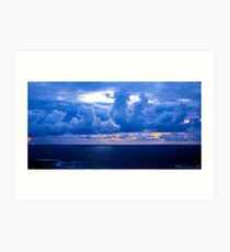 Rolling Clouds  - Glencolmcille, Ireland Art Print