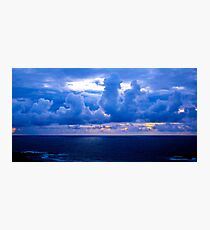 Rolling Clouds  - Glencolmcille, Ireland Photographic Print