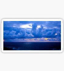 Rolling Clouds  - Glencolmcille, Ireland Sticker