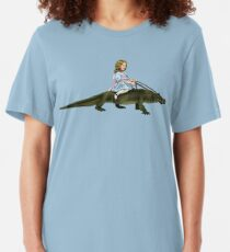 Doreen and her Alligator Slim Fit T-Shirt