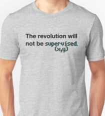 The revolution will not be supervised (3D) T-Shirt