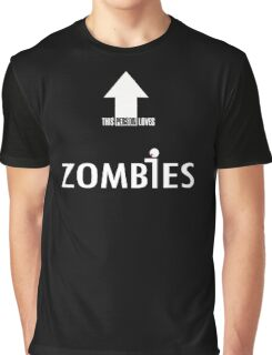 This Person Loves Zombies Graphic T-Shirt