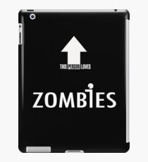 This Person Loves Zombies iPad Case/Skin