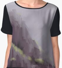 after the storm Women's Chiffon Top