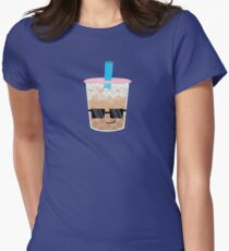 Cool Boba Women's Fitted T-Shirt