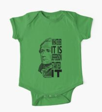 Alexander Hamilton Jefferson Started It TShirt One Piece - Short Sleeve
