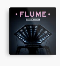 Flume Flume Deluxe Metal Print